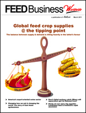 Global feed crop supplies at the tipping point