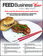 Asia, the Americas and red meat