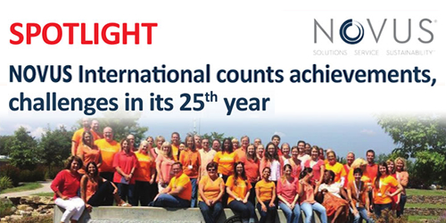 NOVUS International counts achievements, challenges in its 25 th year