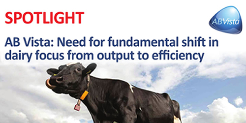 AB Vista: Need for fundamental shift in dairy focus from output to efficiency