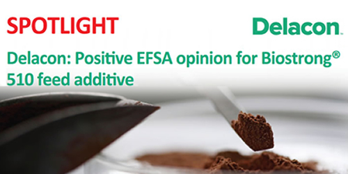 Delacon: Positive EFSA opinion for Biostrong 510 feed additive