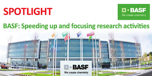 BASF: Speeding up and focusing research activities