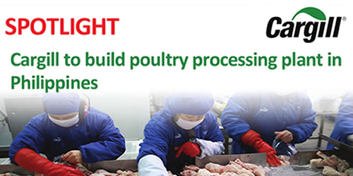 Cargill to build poultry processing plant in Philippines