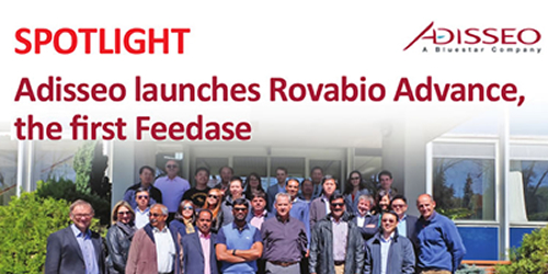 Adisseo launches Rovabio Advance, the first Feedase