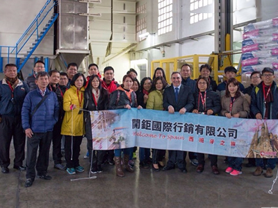 Produmix welcomes Taiwanese swine industry delegation to Spanish facilities