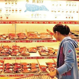 China's trend defying appetite for beef