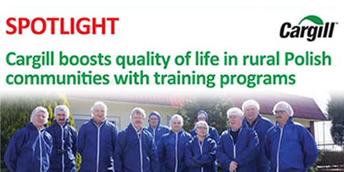 Cargill boosts quality of life in rural Polish communities training programs