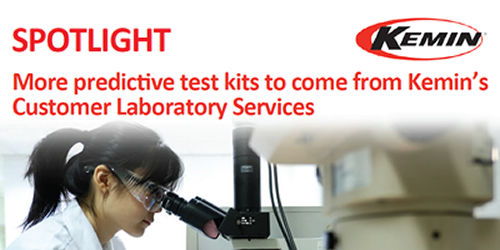 More predictive test kits to come from Kemin's Customer Laboratory Services
