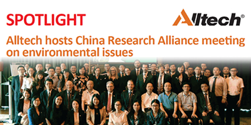 Alltech hosts China Research Alliance meeting on environmental issues