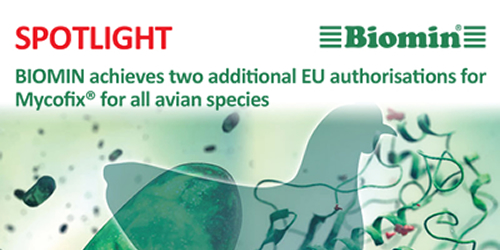 BIOMIN achieves two additional EU authorisations for Mycofix® for all avian species