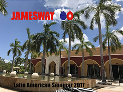 Jamesway's 7th Latin American Seminar: Combining work with pleasure in Mexico