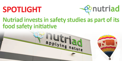 Nutriad invests in safety studies as part of its food safety initiative