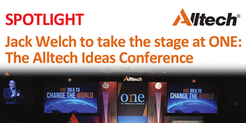 Jack Welch to take the stage at ONE: The Alltech Ideas Conference
