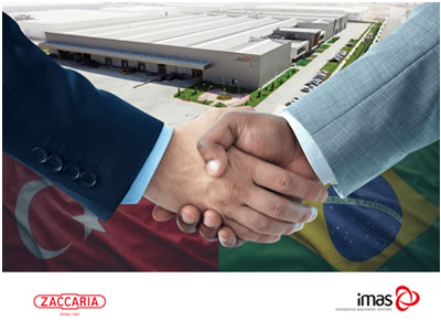 IMAS collaborates with Zaccaria to form a global strategic alliance