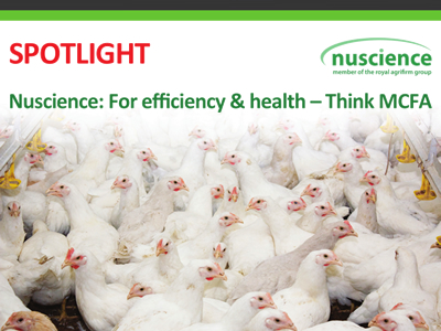 Nuscience: For efficiency & health - Think MCFA
