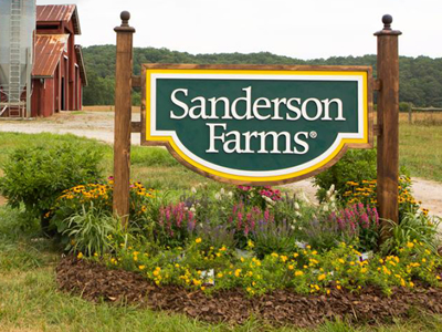 Sanderson Farms to stop antibiotic use by March 2019