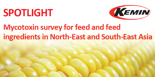 Mycotoxin survey for feed and feed ingredients in North-East and South-East Asia