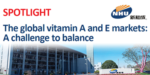The global vitamin A and E markets: A challenge to balance