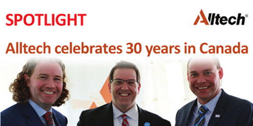 Alltech celebrates 30 years in Canada