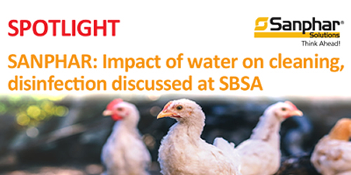 SANPHAR: Impact of water on cleaning, disinfection discussed at SBSA