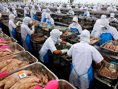 Thailand transforms into a large fish importer