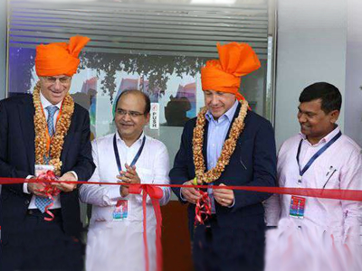 A conversation with Fidelis Fru at the inauguration of DSM's 2nd Animal Nutrition and Health premix plant in India