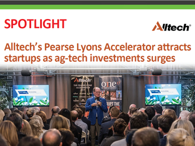 Alltech's Pearse Lyons Accelerator attracts startups as ag-tech investments surges