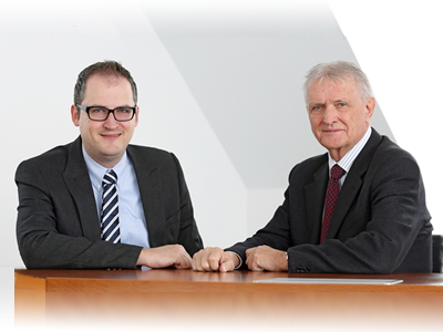 The vision of phytogenics became a reality through Delacon: Helmut and Markus Dedl