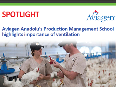 Aviagen Anadolu's Production Management School highlights importance of ventilation