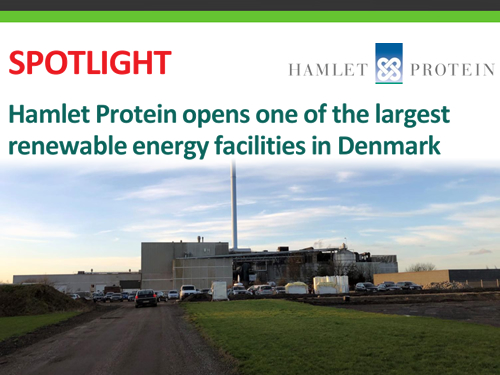 Hamlet Protein opens one of the largest renewable energy facilities in Denmark