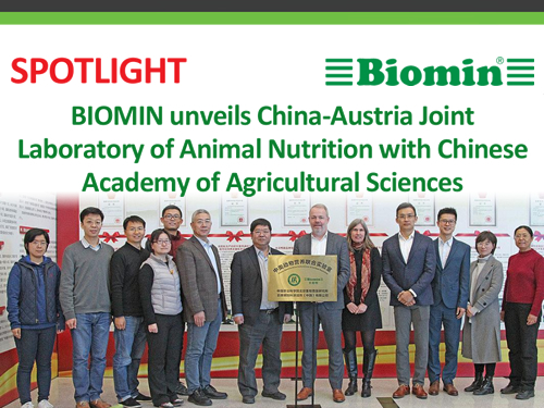 BIOMIN unveils China-Austria Joint Laboratory of Animal Nutrition with Chinese Academy of Agricultural Sciences